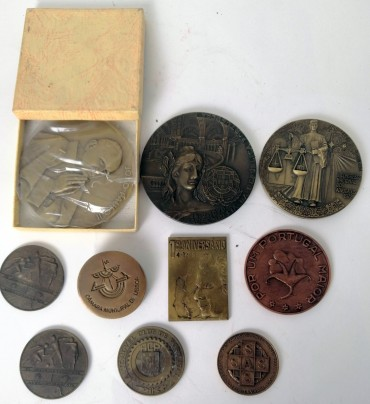 Dez medalhas